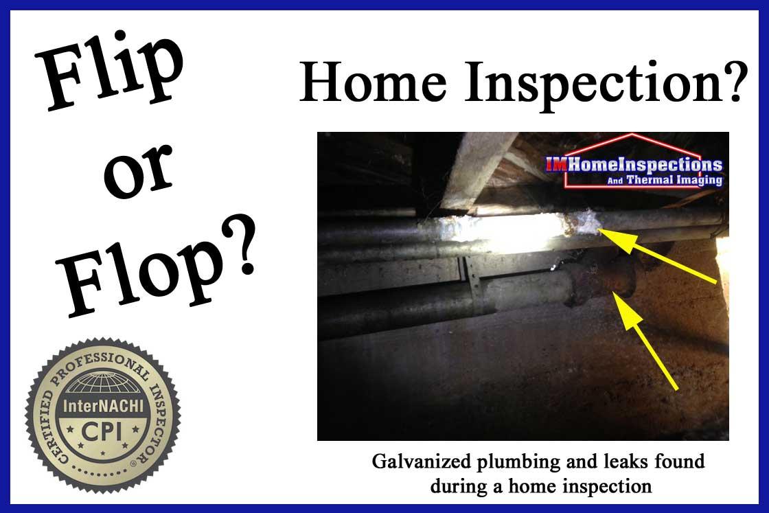 Flip or Flop? Get a home inspection