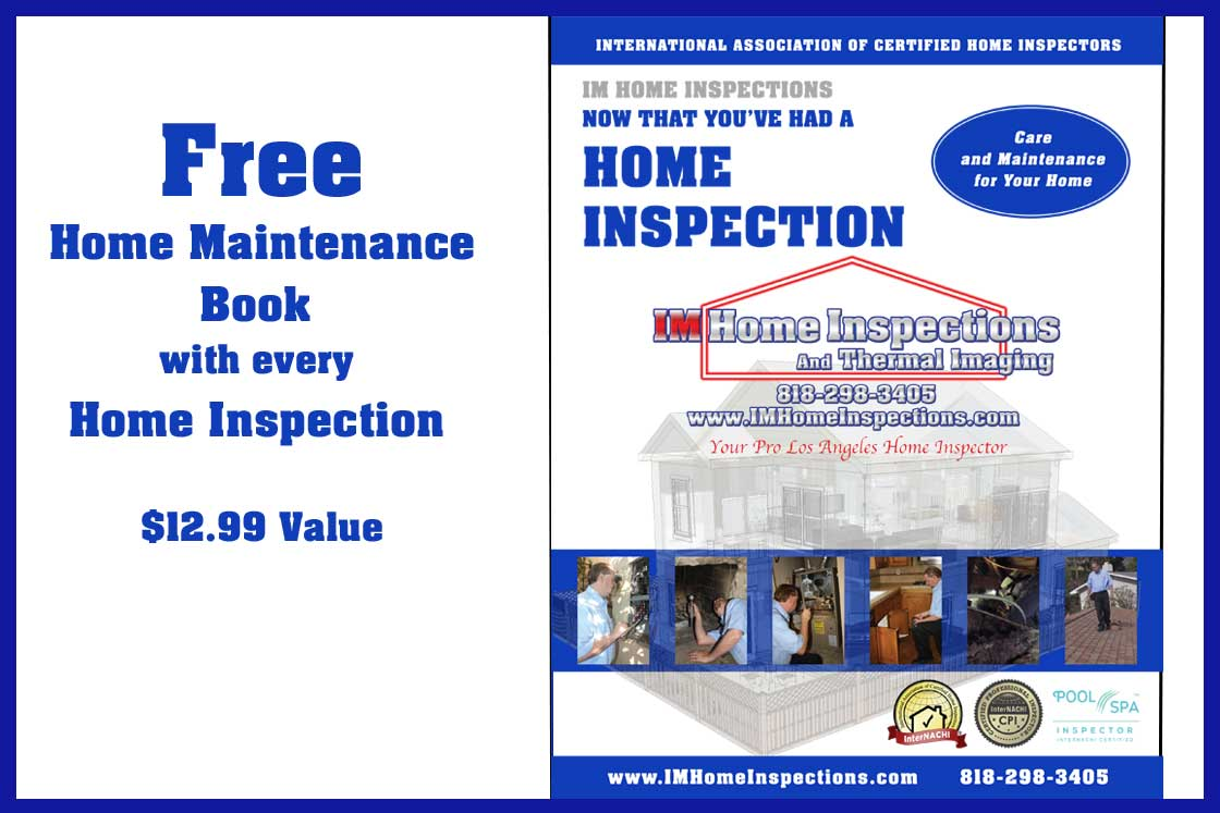 Free Book From Your Pro Los Angeles Home Inspector Im