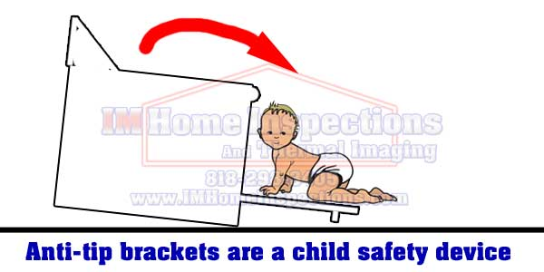 brackets are check by a home inspector