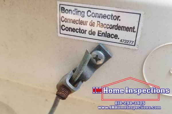 Bonding Wire Im Home Inspection