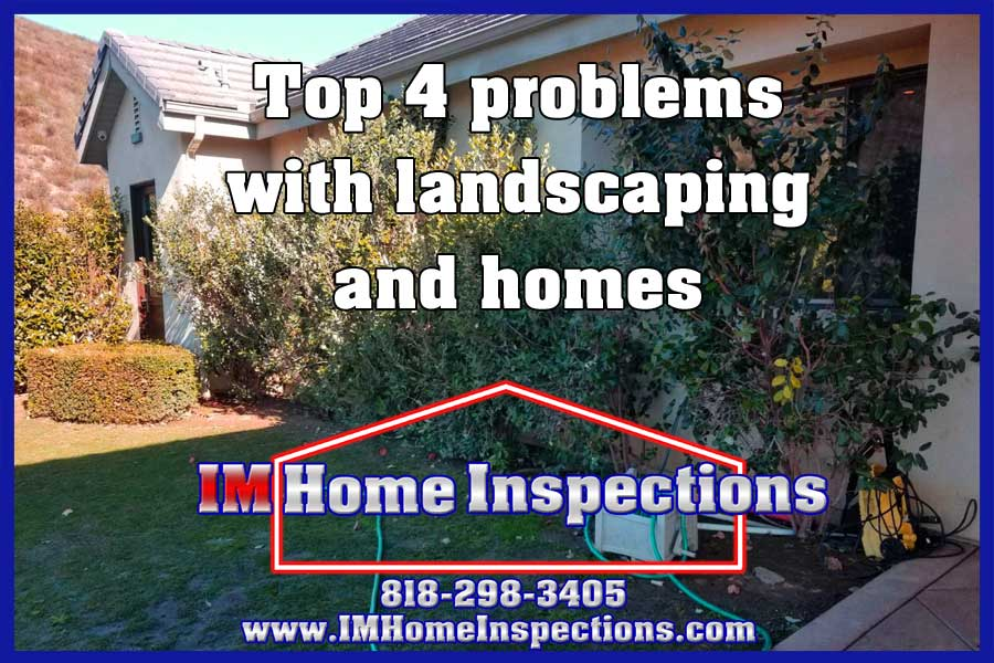 Top 4 problems with landscaping and homes