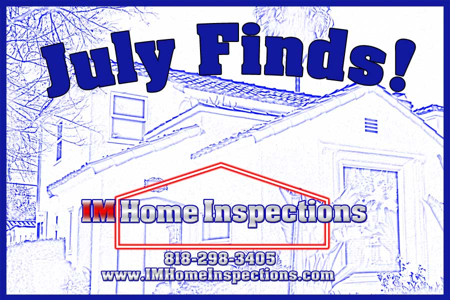 Home Inspection finds