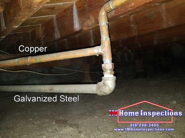 Copper to Galvanized