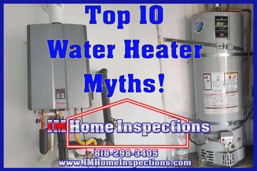 Water Heater Myths